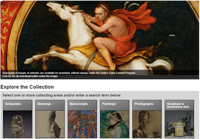 getty colection