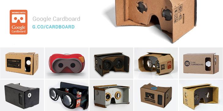 Novedades de Google Cardboard, gafas de realidad virtual hechas en cartón