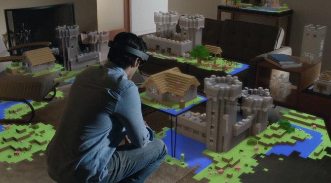 hololens microsoft juegos