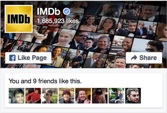 imdb fan page