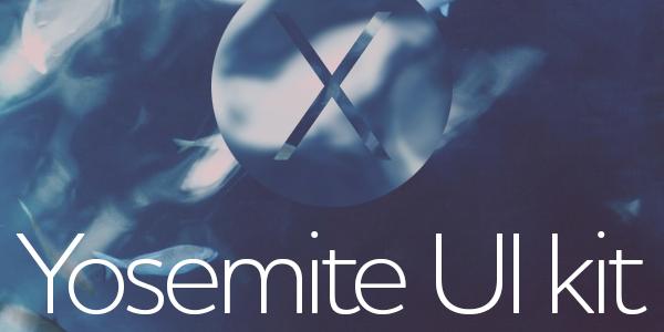 Kit De Interfaz Gráfica Para OS X Yosemite