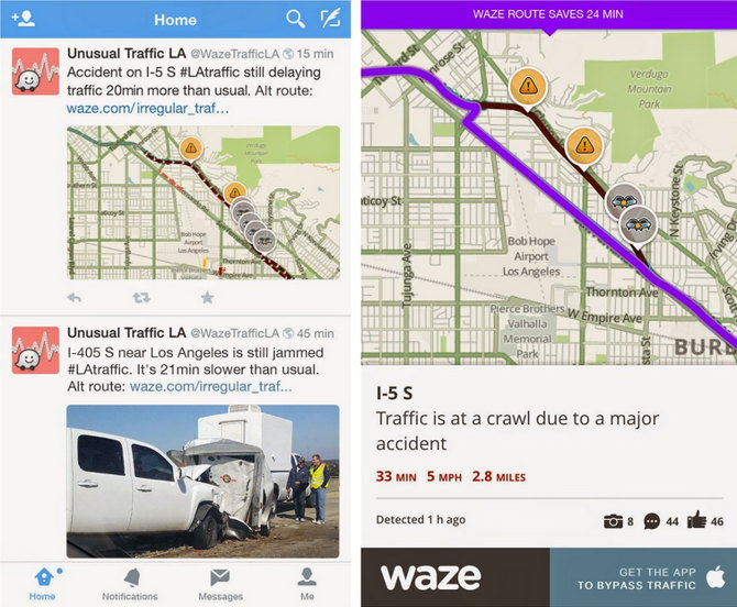 waze reportes trafico