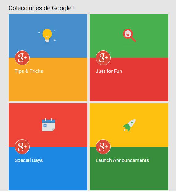 Colecciones de Google+