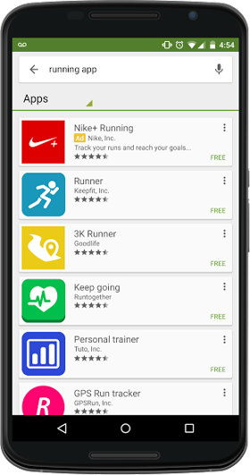 apps promocionadas