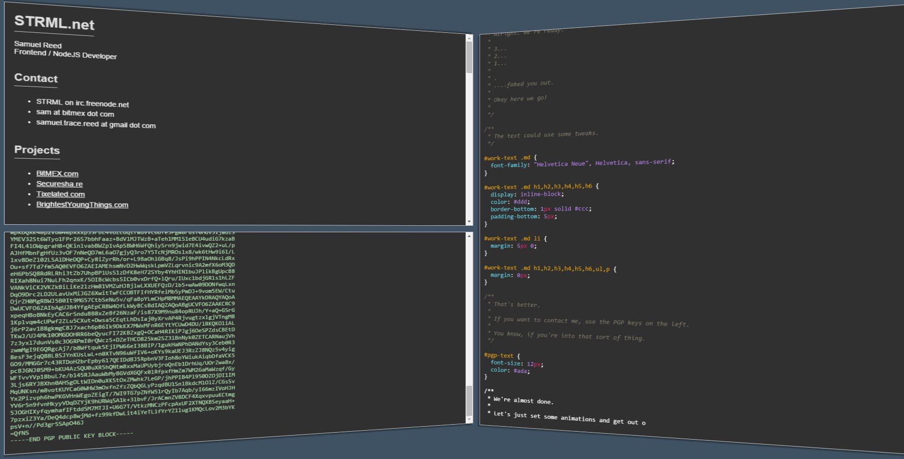 strml – Una web que se construye sola