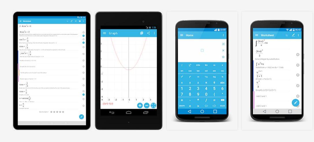malmath, problemas matemáticos con solución paso a paso en android