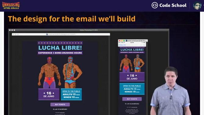 "Un curso online para aprender a crear emails ""responsive"" con HTML"