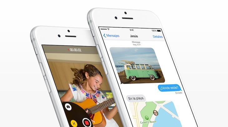 iPhone - Mensajes