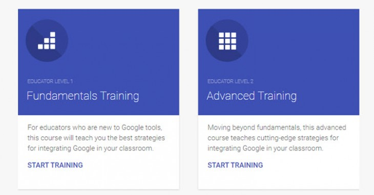 Google for Education Training Center