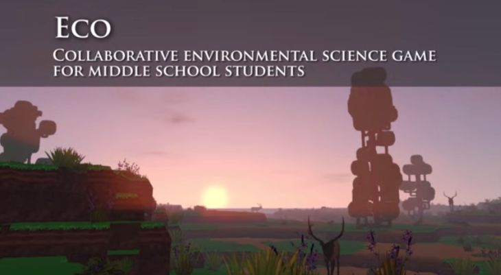 Eco, el juego educativo sobre el medio ambiente que está inspirado en Minecraft