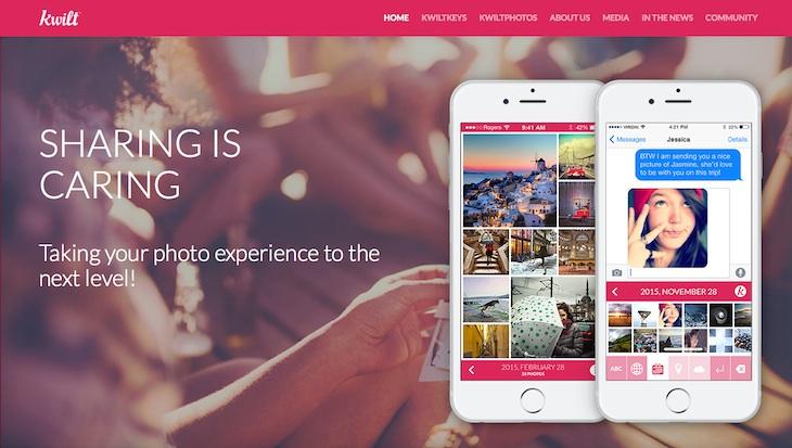 KwiltKeys, un teclado para iOS con el que acceder a todas tus fotos desde un mismo lugar