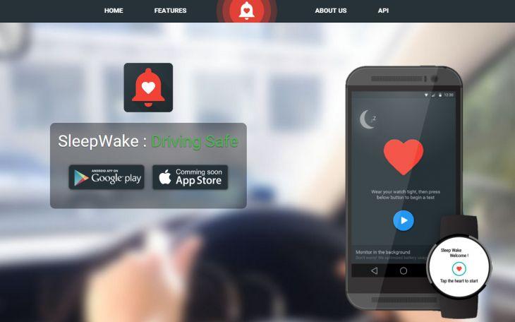 SleepWake, para alertar en caso de alto riesgo por somnolencia [Android]