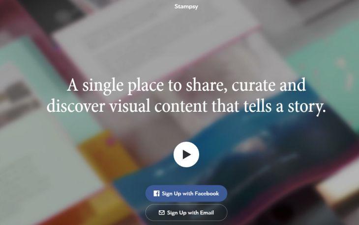 Stampsy, para exponer y descubrir diferentes cosas de manera visual