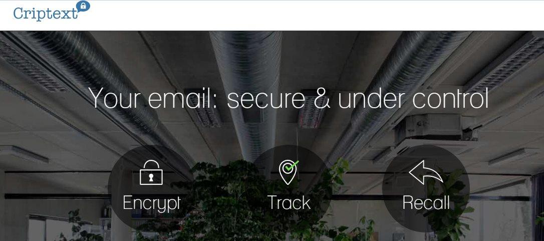 Criptext, una extensión que permite el envío de emails con fecha de caducidad, cifrado y mucho más