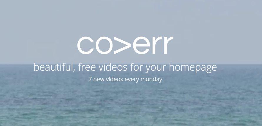 coverr, vídeos gratuitos para que puedan ser usados en nuestro diseño web