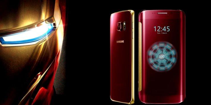 Venden un modelo Iron Man del Samsung Galaxy S6 por 91.000 dólares en China
