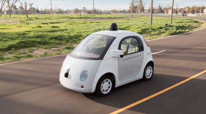 Coche autónomo desarrollado por Google