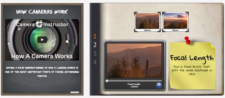 Camera Instructor, cursos online gratuitos para aprender fotografía