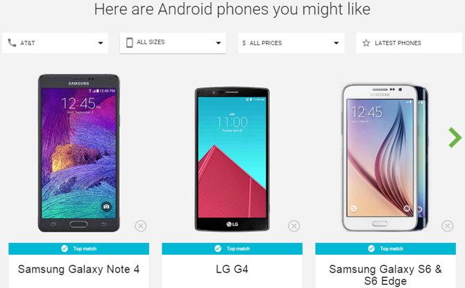 elegir android