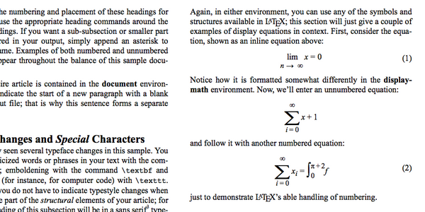 Librería De JavaScript Para Dar Formato HTML a Publicaciones Académicas