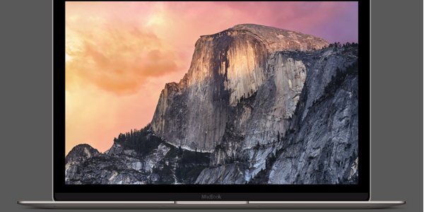 Mockup De Un MacBook Retina De 12 Pulgadas