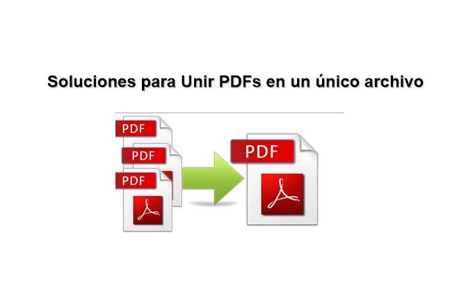 7 Formas De Unir Varios Pdf En Un único Archivo