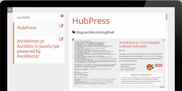 Una Aplicacion Web Para Construir Un Blog En Github