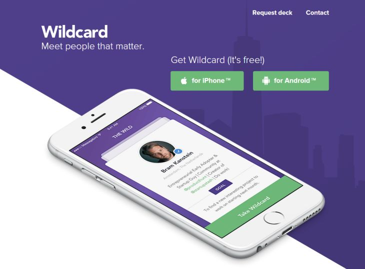 Wildcard, aplicación móvil que actúa a modo de rompehielos en eventos con networking