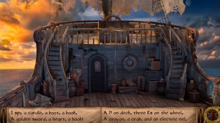 Captura de pantalla de I Spy Pirate Ship