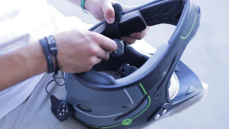 BE – LINK, el sistema de sonido para cascos de moto que destaca en kickstarter