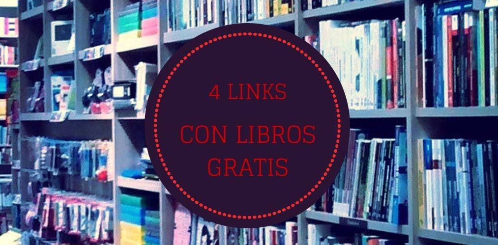 4 links para quien busca libros gratuitos