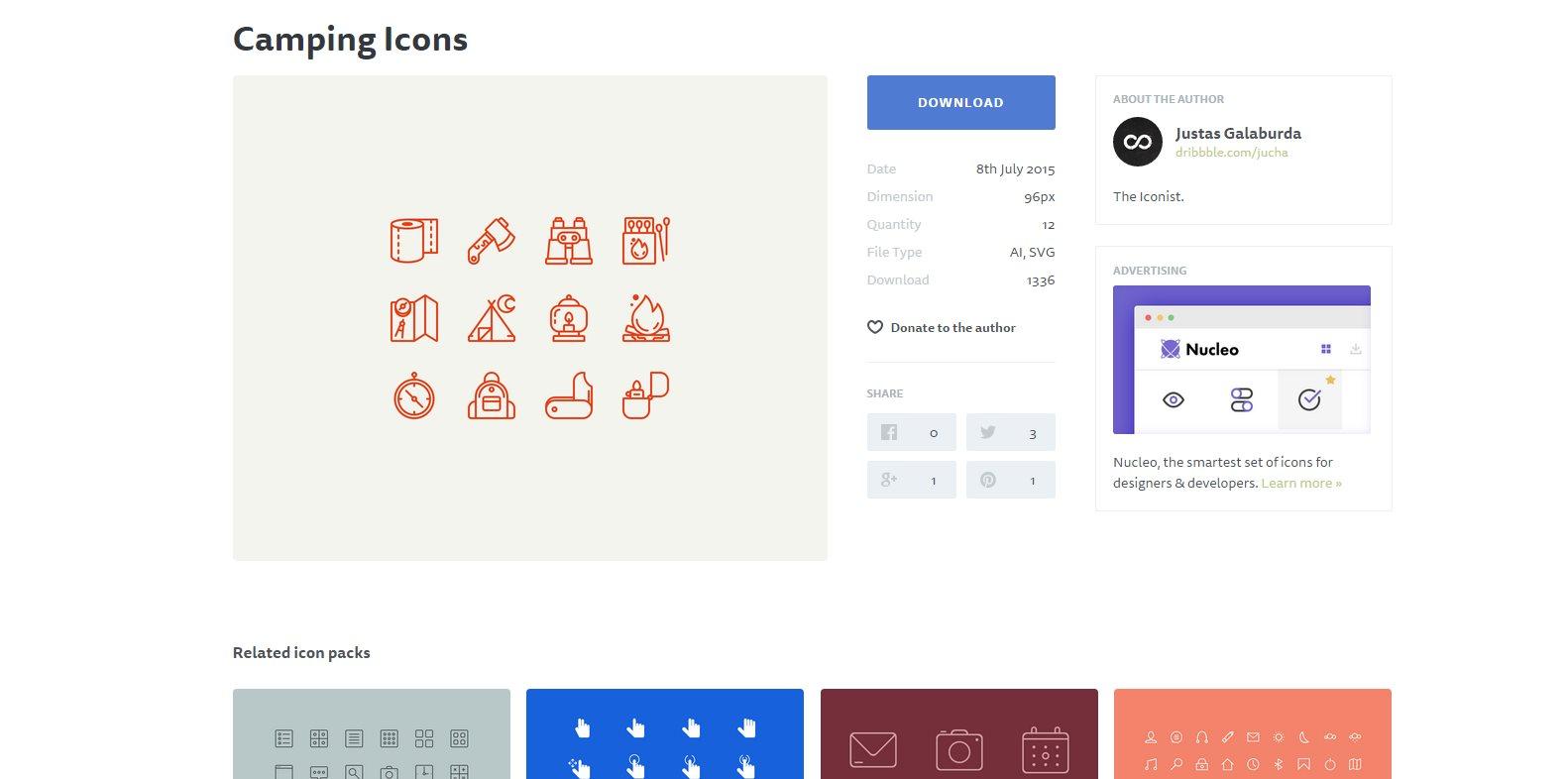iconstore, nueva web para encontrar iconos gratuitos para nuestros proyectos