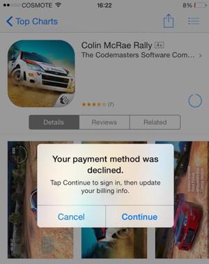 La App Store ya no soporta tarjetas de crédito griegas: @iPhoneHellas
