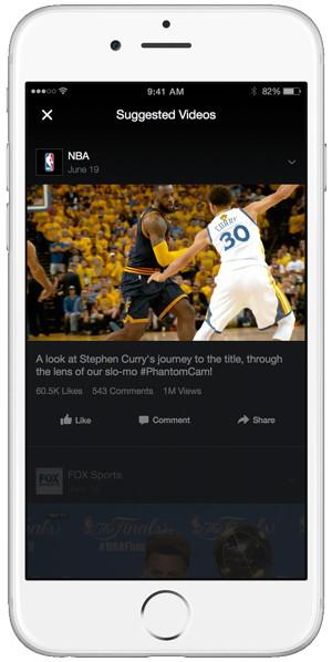 facebook videos sugeridos