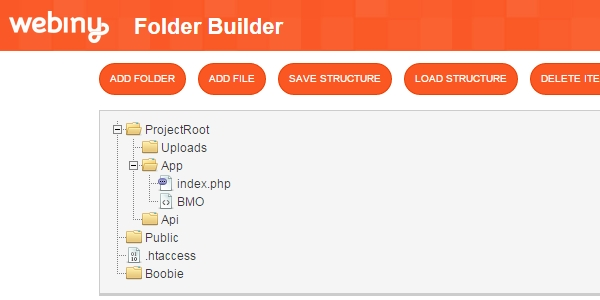 FolderBuilder: Una Librería En CSS Y JS Para Organizar Archivos Y Carpetas