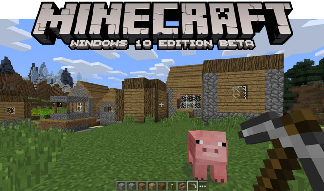 minecraft windows 10 beta