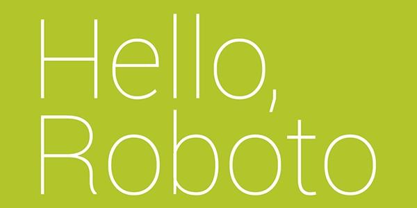 Roboto: Sencilla E Impactante Fuente Para Móviles Y Web