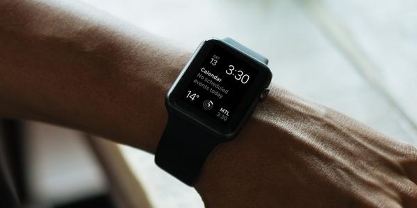 Set De Imágenes Editables En Photoshop Del Apple Watch