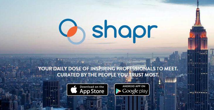 Shapr amplía contacto con profesionales de confianza