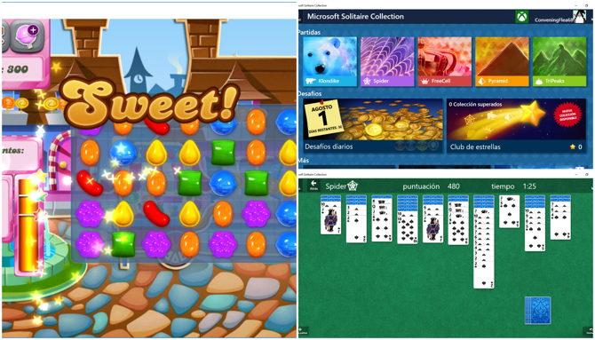 4 nuevos juegos windows