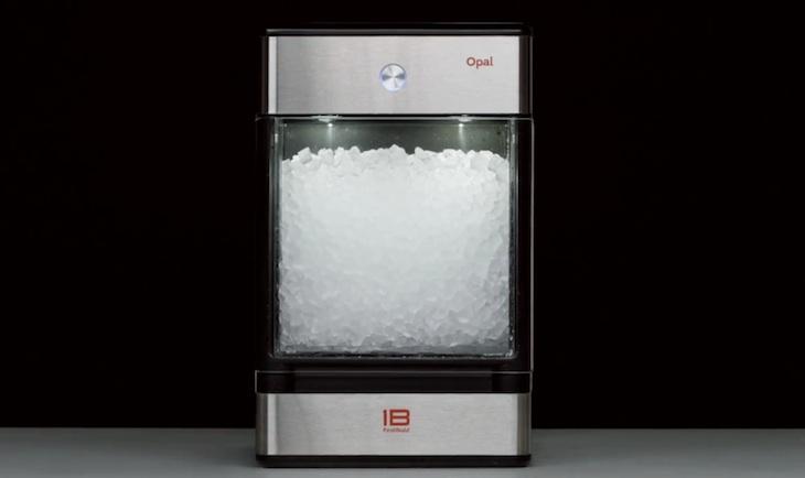 Opal, una maquina de hielo masticable que triunfa en Indiegogo