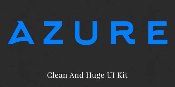 Azure: Kit De Interfaz Web Principalmente Para Ecommerce