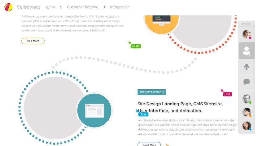Gravit, una plataforma de diseño en la web, con funciones para trabajo en equipo