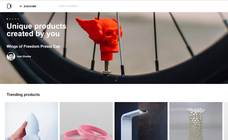 kwambio, para que puedas vender los productos que diseñas en 3D, o comprar los expuestos