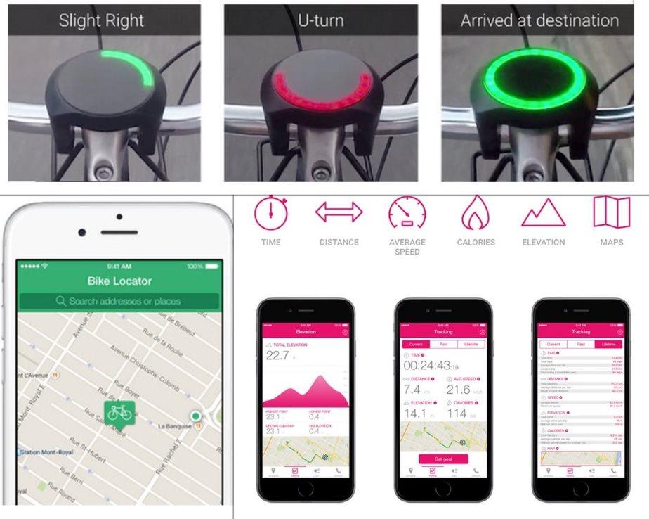 smarthalo, un dispositivo para facilitar la vida de los ciclistas