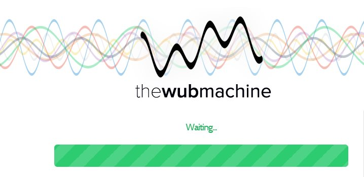 "The wub machine, una aplicación para transformar canciones ""en otra cosa"""