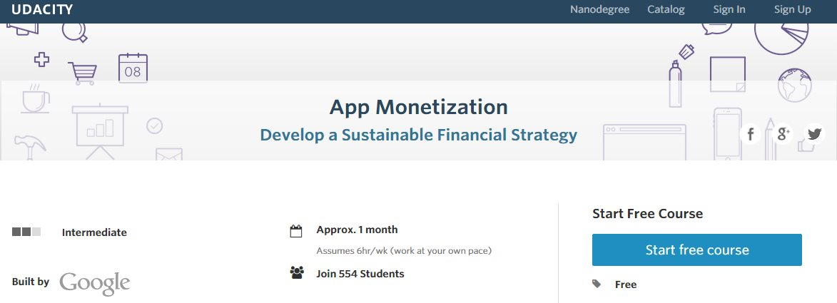 Un curso online gratuito, de Google, para aprender a ganar dinero creando apps