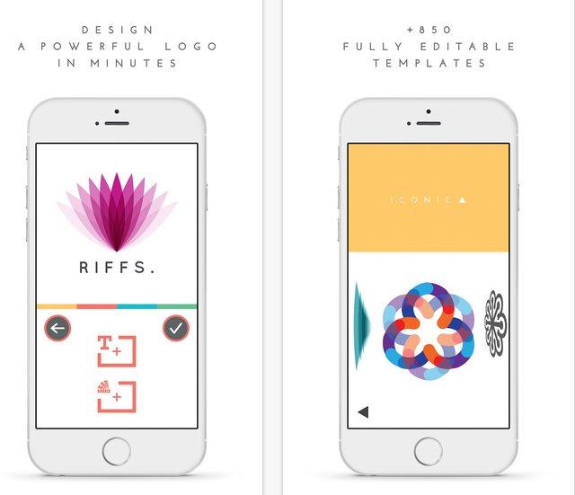 Siguen apareciendo aplicaciones para crear logos, y ahora desde el móvil