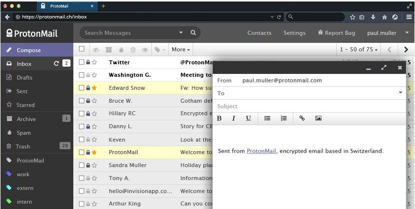 Protonmail se renueva y se hace OpenSource