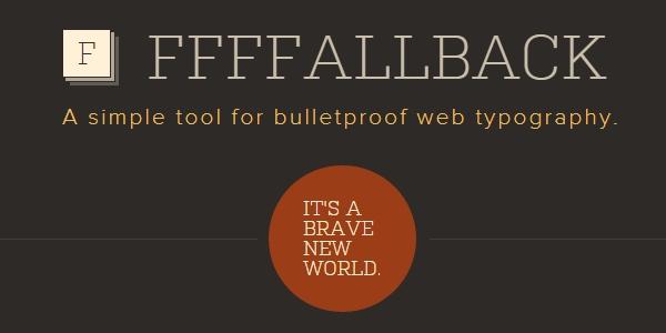 FFFFALLBACK: Herramienta De Visualización Directa De Fuentes En Páginas Web